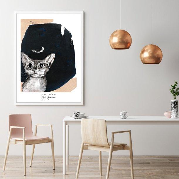 Plakat 1 - Le Chat De Nuit (Årets kunstner 2019)