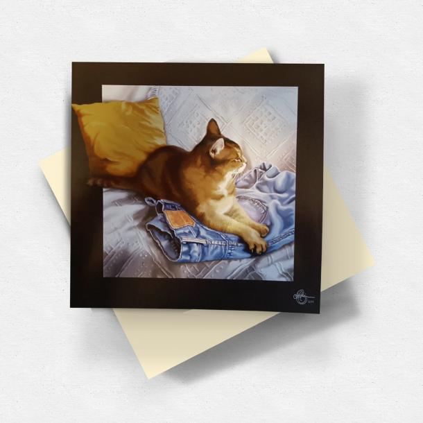 Katte-kort, store